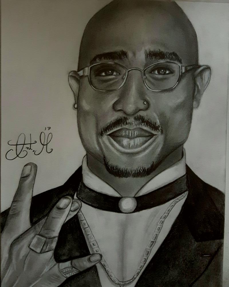 Tupac by toni22